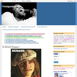 "l'histgeobox: 44. Renaud:""Hexagone."""