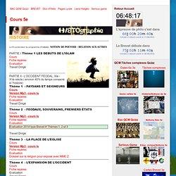 Cours 5e - HISTOgraphie, site de cours d'histoire-géographie, culture, Internet...