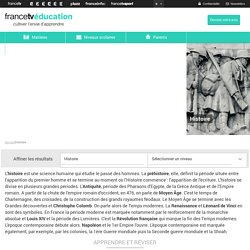 Les ressources en ligne de France TV Education