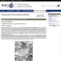 PREMIÈRE PARTIE : MYTHES, SCIENCES ET PÉDAGOGIE/ vase : Ulysse et les Pheaciens