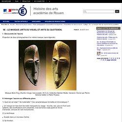 5e - Le masque (Arts du visuel et arts du quotidien)