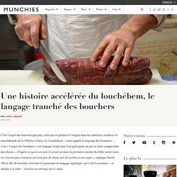 Une histoire accélérée du louchébem, le langage tranché des bouchers