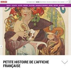 Petite histoire de l'affiche française