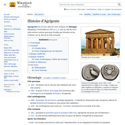 Histoire d'Agrigente