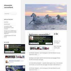 L'histoire du fermier et le cheval – Alexandre Lecouillard