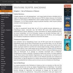 Histoire égypte antique