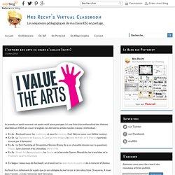 L'histoire des arts en cours d'anglais (suite)