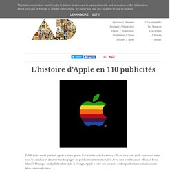 L'histoire d'Apple en 110 publicités
