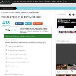 Histoire d'Apple et de Steve Jobs (vidéo)