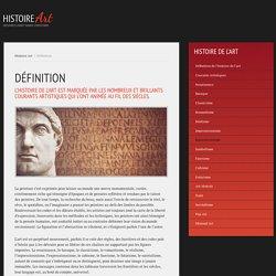 SITE : HISTOIRE ART