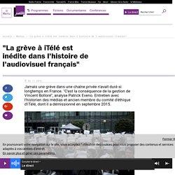 """""""La grève à iTélé est inédite dans l'histoire de l'audiovisuel français"""""""