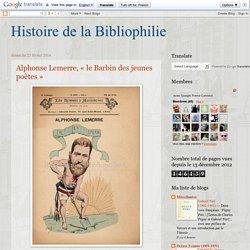Histoire de la Bibliophilie: février 2014