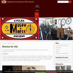Histoire de la Bicyclette