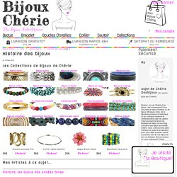 Histoire des bijoux et de la bijouterie