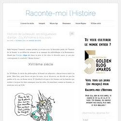 Histoire de la beauté, les blogueuses d'antan -Du XVIIIème à nos jours-