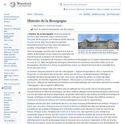 Histoire de la Bourgogne — Wikipédia
