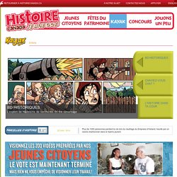 Histoire Canada - Kayak