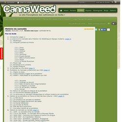 Histoire du cannabis - Histoire du Cannabis et de ses variétés - Guides - Guides de culture du cannabis
