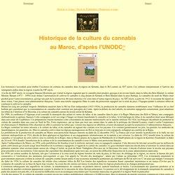 Histoire du cannabis au Maroc