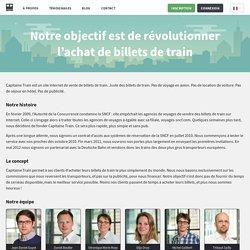 Histoire - Capitaine Train