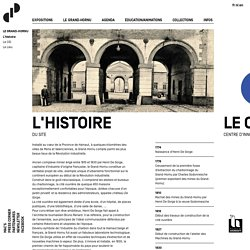 Le Grand-Hornu - L'histoire - Centre d'innovation et de design au Grand-Hornu