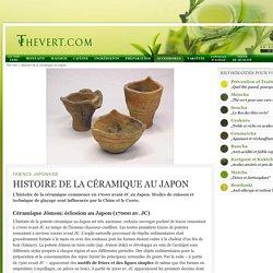 Histoire de la céramique au Japon