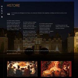 HISTOIRE ‹ Château de Vair