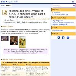 le chocolat dans l'artac poitiers