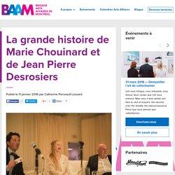 La grande histoire de Marie Chouinard et de Jean Pierre Desrosiers