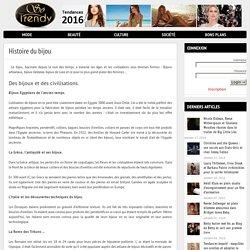 Histoire du bijou : chronologie sur les bijoux