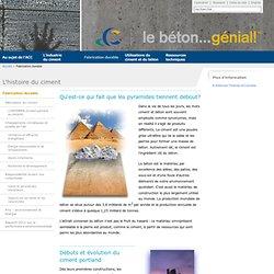L'histoire du ciment - Cement Association of Canada