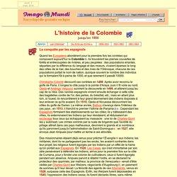 Histoire de la Colombie.