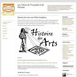 Histoire des arts, une Tâche Complexe.