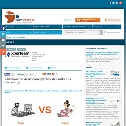 L'histoire de deux concepteurs de contenus e-learning