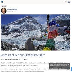 HISTOIRE DE LA CONQUETE DE L'EVEREST
