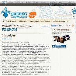 Le premier réseau social consacré à la généalogie au Québec!