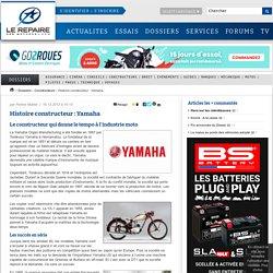 Histoire constructeur : Yamaha