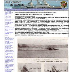HISTOIRE DES NAVIRES DE GUERRE CONSTRUITS