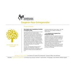 15 ans d'histoire - Coopérer Pour Entreprendre sur Coopérer Pour Entreprendre