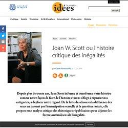 Joan W. Scott ou l'histoire critique des inégalités