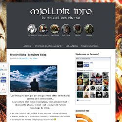 Mjollnir Info : le Portail des Vikings !