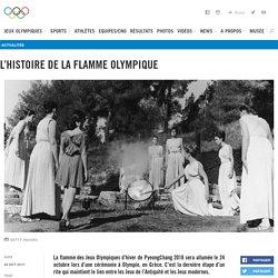 L'histoire de la flamme olympique