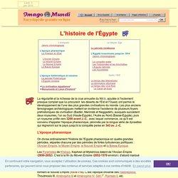 Histoire de l'Egypte.