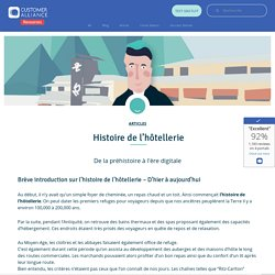Histoire de l'hôtellerie