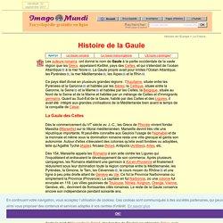 Histoire de la Gaule.