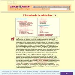Histoire de la médecine.