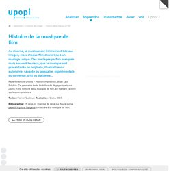 Histoire de la musique de film