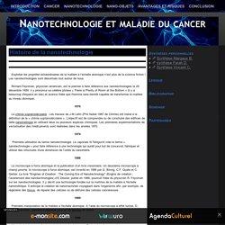 Histoire de la nanotechnologie