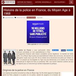 Histoire de la police en France