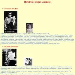 Histoire de Walt Disney